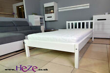White single bed, 3FT, solid wood, strong and sturdy, the best on eBay!