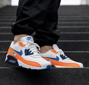 Nike Air Max 90 Orange Sneakers for Men for Sale | Authenticity ...