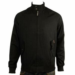 Ben Sherman Men's Retro Mod Harrington Jacket Black Sizes: M & L
