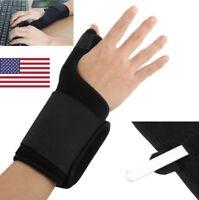Thumb Stabilizer Wrist Brace Support Sprain Carpal Tunnel Arthritis Pain Splint