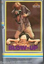 Blow up (1966) VHS  1a Edizione MGM Antonioni Vanessa Redgrave Sarah Miles CULT