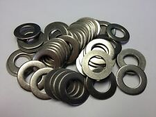 """50 3/8"""" STAINLESS FLAT WASHERS FOR UNF UNC BSW BSF"""