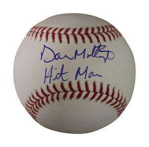 Don Mattingly Autographed/Signed New York Yankees OML Baseball JSA 30083