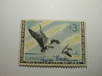 US Department of Interior Scott #RW30 $3 Pair of Brant Landing 1963, Used & S...