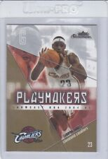 2004-05 Fleer Showcase Playmakers LeBron James