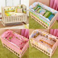 Bedding Set Baby Crib Cot Sets Nursery Newborn Boy Girl Bumper Pillow Mat Beddin
