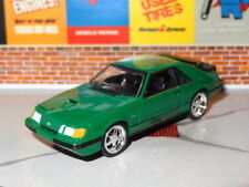 1984-1986 FORD MUSTANG SVO FOX BODY 1/64 SCALE DIORAMA COLLECTIBLE MODEL A