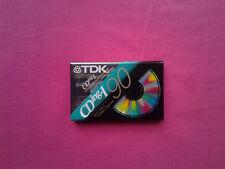 Cassette K7 Vierge / 90 TDK CD ing.1 IEC I / Type 1/ S