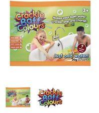 CRACKLE BATH BAFF SACHET ZIMPLY KIDS SENSORY MESSY PLAY TIME FUN SNAP POP COLOUR