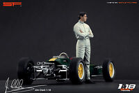 1:18 Jim Clark figurine VERY RARE !!! NO CARS !! for diecast collectors by SF