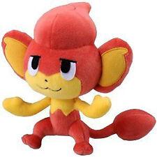 "Pokemon Bw Black White 7"" Pansear Plush Doll Toy Baoppu Takara Tomy Licensed"