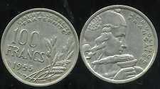 100 francs  1955 B  cochet   ( bis )