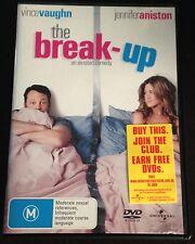 The Break-Up (DVD - 2006) Jennifer Aniston - Vince Vaughn - Region 4 - M