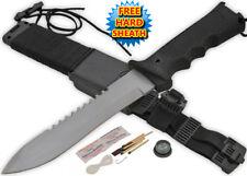"12"" Jungle King Hunting Dagger Ultimate Survival Knife & Kit"
