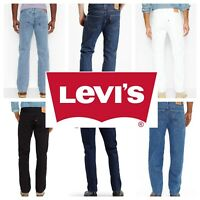 Levis 501 Original Fit Men's Jeans Straight Leg Levi's Button Fly 100% Cotton