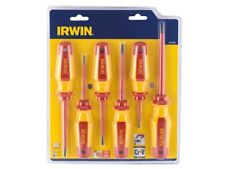 Irwin Pro Comfort 6 Piece VDE Slotted & Pozidriv® Screwdriver Set 1951884