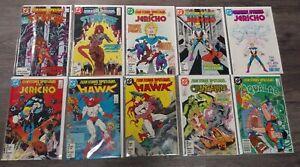 TEEN TITANS SPOTLIGHT 1-10 DC COMIC BOOK LOT