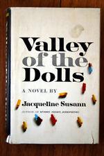 Valley of the Dolls by Jacqueline Susann 1966 Hc/Dj 11th Printing Vintage Novel