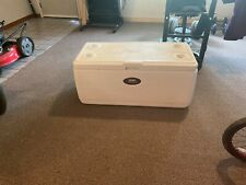Four foot long two feet wide Coleman cooler used, fair condition.