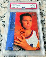 STEVE NASH 1996 SP #1 Draft Pick Rookie Card RC PSA 8 Suns Brooklyn Nets HOF $$