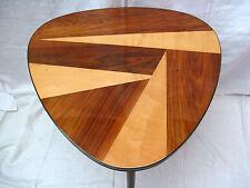 Schön furnierter  50´s Mid Century Design  Beistell Tisch  side table 59 x 69 cm