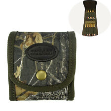 Tourbon Rifle Cartridges Carry Bag Ammo Wallet Ammunition Holder 10 Loops Belt