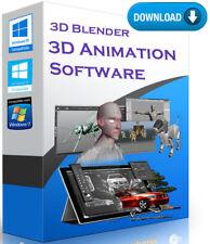 3D Animation Blender Graphics Cartoons Design Software DOWNLOAD