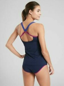Athleta Kapalua Bra Sized Swim Tankini Swimsuit  2 pc NWT 34 B/C M