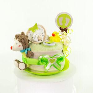 MomsStory - mini Windeltorte Junge 1.326   Baby-Geschenk Geburt Taufe Babyparty