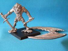 WARHAMMER G/W-Demone Maggiore Caos balgorg baalrulch C31 metallo 1987 fuori catalogo B