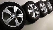 4x BMW X5 E70 Alufelgen Goodyear Winterreifen Radsatz 255/55 R18 109H RSC