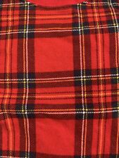 Old Navy Toddler Holiday Christmas Pjs Pajama 4T Two-piece Set Red Tartan Plaid