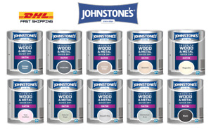 Johnstone's interior Wood & Metal Quick Dry Satin Paint 750 ML All Colours