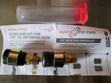 """Tractor Trailer 3/8"""" Air Brake Hose Repair Kit"""