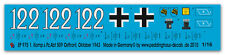 Peddinghaus 1/16 0975 Decals Tiger I s. Pz. Abt 509-Ostfront 43