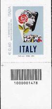 1478 CODICE A BARRE LATO SINISTRO Il turismo Manifesto storico ENIT 60 ANNO 2012