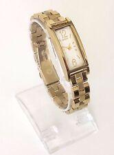 DKNY señora reloj oro acero inoxidable rectángulo ny2428 nuevo embalaje original