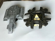Stargate SG-1 Daedalus ship and Goa'uld mothership