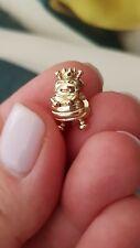 Authentic Pandora 14k 14ct gold Queen Bee charm #750432 rare