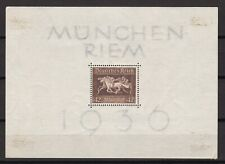 Germany- Deutsces Reich  -1936 year- Michel Bloc 4x - MH