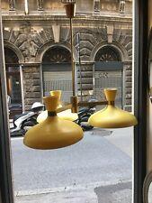 LAMPADARIO 50s STILNOVO ARREDOLUCE ARTELUCE CEILLING LAMP