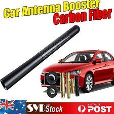 "Replacement 4.7"" Car Aerial Carbon Fiber Antenna Booster For Nissan Navara D40"