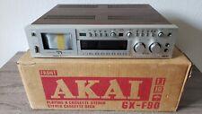 1979 AKAI GX-F90 ~ 3 Head ~ Direct Drive Cassette Deck W/Original Box ~ MUST SEE