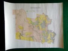 [Map]. Meredith. Melbourne: Crown Lands Department, 1890s.