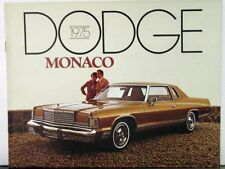 repair manuals \u0026 literature for dodge royal monaco for sale ebay1975 dodge monaco royal brougham wagon color sales brochure original
