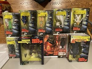 Planet Of The Apes Action Figure Collection.  Hasbro 2001