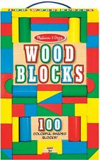 Melissa & Doug Wood Blocks Assorted