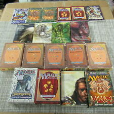 MAGIC THE GATHERING DECK BOXES WITH CONTAINER! PLEASE READ!! R149