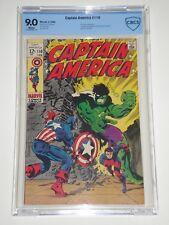 Captain America 110 (Feb 1969) CBCS 9.0 (Similar to CGC) 1st Madame Hydra -Viper