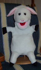 All White Full Bodied Lamb Sheep Ventriloquist Puppet:Ministry,Teachers, Easter